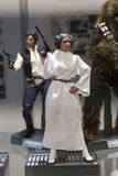Princess Leia toy figure Royalty Free Stock Photography