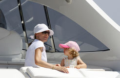 Princess Letizia and daughter Leonor Royalty Free Stock Photos