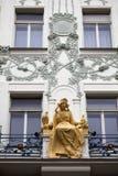 Princess Libuse statue Prague Stock Images