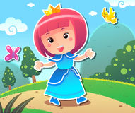 Princess Lily Royalty Free Stock Images
