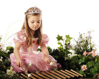 Princess Making Music Royalty Free Stock Photo