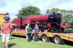 Princess Margaret Rose, 21-inch Gauge Locomotive. Stock Photography