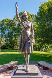 Princess Martha statue in Slotsparken Oslo Royalty Free Stock Photos