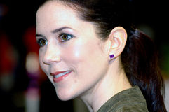 PRINCESS MARY AT FASHION FAIR CIFF Stock Photo
