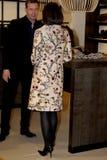 PRINCESS MARY VISITS CIFF_FASHION WEEK Stock Image
