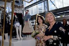 PRINCESS MARY VISITS CIFF_FASHION WEEK Royalty Free Stock Image