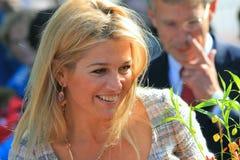Princess Maxima Zorreguieta Stock Image