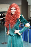 Princess Merida at Comic Con. San Diego Comic Con July 12-15, 2012. The world's largest convention of its kind featuring media, movies, comic books, anime Royalty Free Stock Image