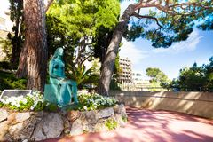Princess Monaco statue Stock Photo