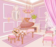 Princess Music Room Royalty Free Stock Photo