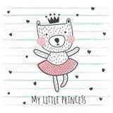 Princess niedźwiedź ilustracji