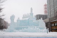 Free Princess Of White Wings, Sapporo Snow Festival 2013 Stock Photo - 29502900