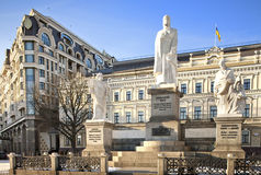 princess olga памятника kiev Стоковая Фотография RF