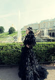 Princess in the park Royalty Free Stock Image