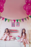 Princess party Stock Photo