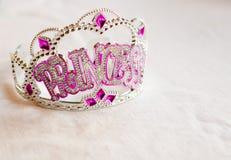princess partyjna tiara Fotografia Royalty Free