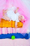 Princess on a pea Royalty Free Stock Images
