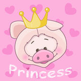 Princess Pig Royalty Free Stock Photos