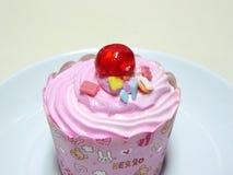 Princess Pink cupcake. Royalty Free Stock Photos