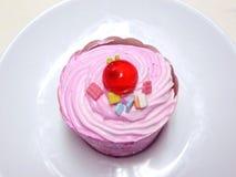 Princess Pink cupcake. Royalty Free Stock Photo