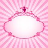 Princess pink frame