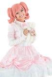 Princess in pink Stock Photos