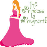 Princess Is Pregnant Stock Photo