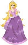 Princess Rapunzel W menchii sukni Zdjęcia Stock