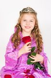 The princess with a rose Royalty Free Stock Photography