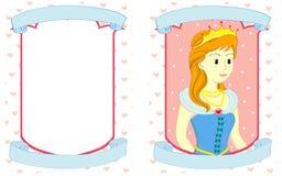 princess s приглашения Стоковое Фото