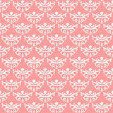 Princess seamless pattern, Vintage background Royalty Free Stock Photography