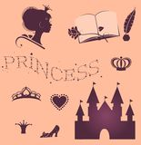 Princess set Stock Photography