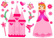 Princess Set Stock Image