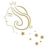 Princess silhouette Stock Photos