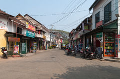 Princess street in Fort Kochi Stock Photography
