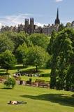 Princess Street Gardens in Edinburgh Stock Photography