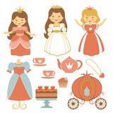 Princess tea party Royalty Free Stock Photo
