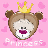 Princess Teddy Bear Stock Images