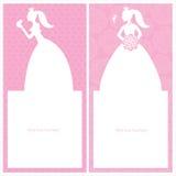Princess template design Royalty Free Stock Photography