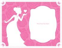 Princess template design Stock Photography