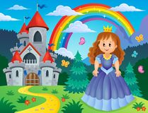 Princess theme image 3 Royalty Free Stock Photos