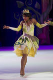 Princess Tiana. GREEN BAY, WI - MARCH 10: Princess Tiana from Princess and the Frog on skates at the Disney on Ice Treasure Trove show at the Resch Center on Stock Image