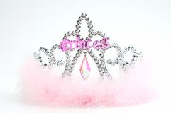 Princess Tiara and wand Royalty Free Stock Photos