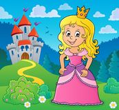 Princess topic image 1 royalty free stock photos