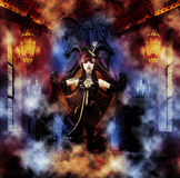 Princess of the Underworld Stock Images