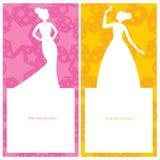 Princess urodzinowej karty zaproszenie Ilustracji