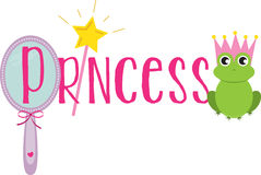 A Princess Royalty Free Stock Images