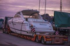 Princess V48, Luxury Motor Yachts Stock Image