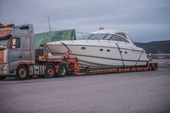Princess V48, Luxury Motor Yachts Royalty Free Stock Photo