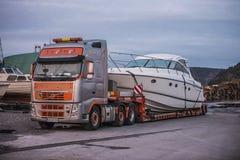 Princess V48, Luxury Motor Yachts Royalty Free Stock Photos